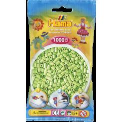 Hama MIDI perler, 1000 stk., pastel grøn