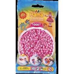 Hama MIDI perler, 1000 stk., pastel pink