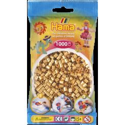 Hama MIDI perler, 1000 stk., guld