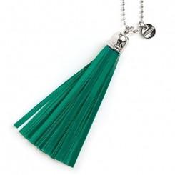 Refleks kvast nøglering original, Emerald Green