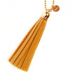 Refleks kvast nøglering original, Golden Caramel