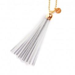 Refleks kvast nøglering original, Silver/gold