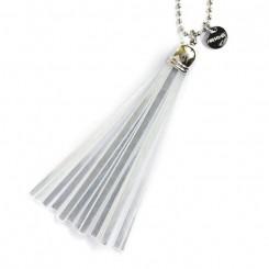 Refleks kvast nøglering original, Silver/silver