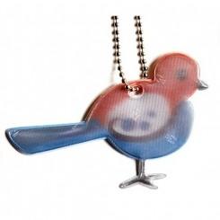 Refleks nøglering, Fugl