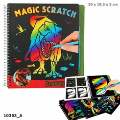 Dino World Magic Scratch