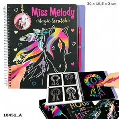 Miss Melody Magic Scratch
