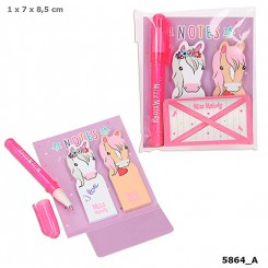 Miss Melody Sticky Notes m/ mini pen