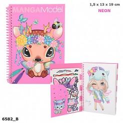 MANGAModel Lommemalebog - Pink