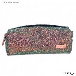 TOPModel Tube Penalhus m/glitter, multicolour
