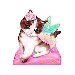 TOPModel Kitty & Doggy Notesblok, kat med vinger