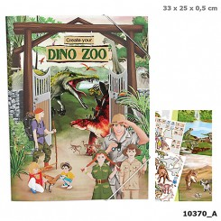 Dino World Zoo Aktivitetsbog