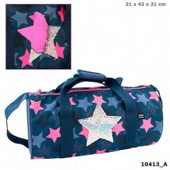 TOPModel Sportsbag m. pailletter, stjerne
