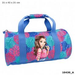 TOPModel Sportsbag Tropical, blå