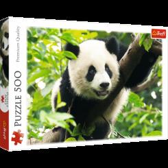 Puslespil Panda, 500 brikker