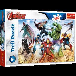 Puslespil Avengers, 160 brikker