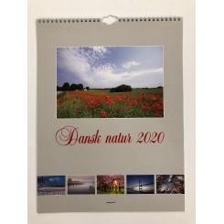 Vægkalender Dansk natur 2020