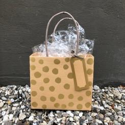 Gavepose, prikker og striber, lille