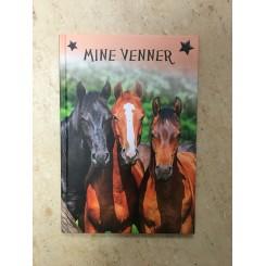 Mine venner - vennebog - heste mix