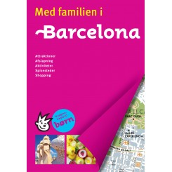 Med familien i Barcelona