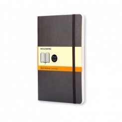 Moleskine Classic collection, linieret, soft cover, 9x14cm, sort