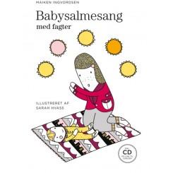 Babysalmesang med fagter (m/cd)