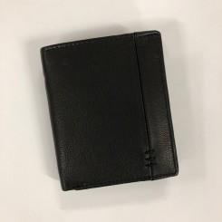 Læderpung, sort