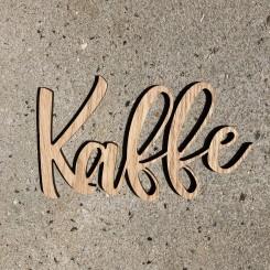 Træ skilt - KAFFE