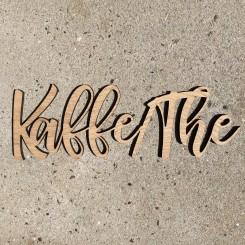 Træ skilt - KAFFE/TE