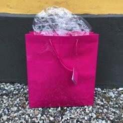 Gavepose, stor, pink