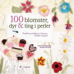 100 blomster, dyr & ting i perler