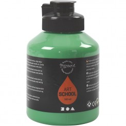 Pigment Art School, grøn, 500 ml