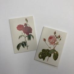 Koustrup 2x5 stk. minikort m. roser