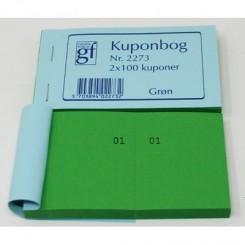 Kuponbog nr. 2273 - grøn