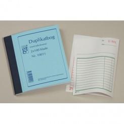 Duplikatbog med talkolonne nr. 10011