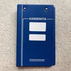 Kasseblokbind Blå 2645K