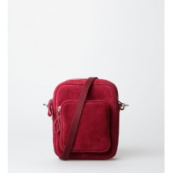 Crossbody Bag - Liv Suede - Persian Red