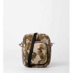 Crossbody Bag - Liv Suede - Camouflage