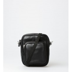 Crossbody Bag - Liv Leather - Black