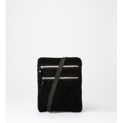 Crossbody Bag - Esther Suede - Black