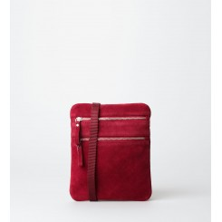 Crossbody Bag - Esther Suede - Persian Red