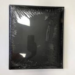 Fotoalbum / Scrapbog sort, m. 30 selvklæbende sider