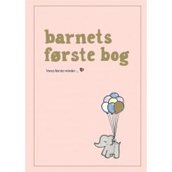 Barnets første bog - ROSA illustreret af Simone Thorup