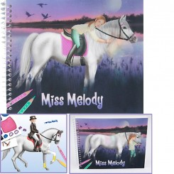 Miss Melody malebog NIGHT