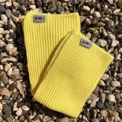 Karklud, bomuld, lys gul