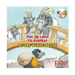 Pixi-serie 135 - Pixi og Louis på eventyr - De tre bukke bruse