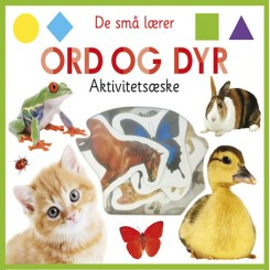 De små lærer - Ord og dyr - aktivitetsæske