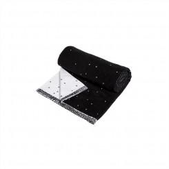 OYOY Dotty Håndklæde, lille - sort/hvid