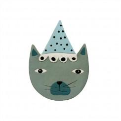 OYOY Keramik Relief, Buster Kat