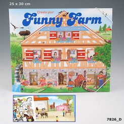 Create your Funny farm Aktivitetsbog