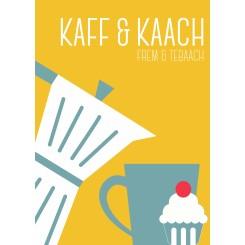 MutMut kort, A5 - KAFF & KAACH - gul